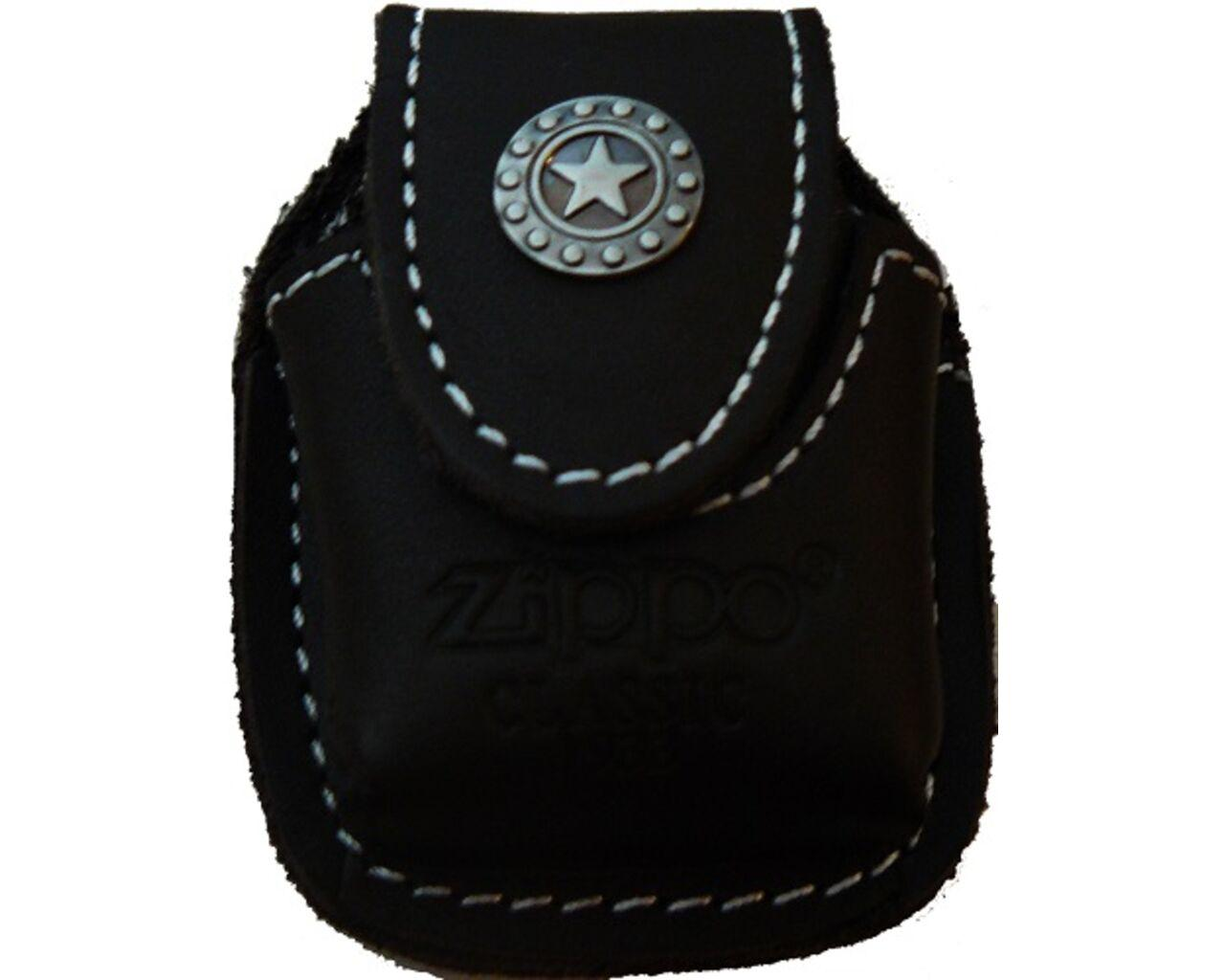 Кожаный чехол для зажигалки Zippo. Чехлы для зажигалок.