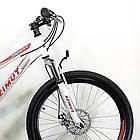 """Подростковый велосипед 24"""" Azimut Forest D бело-красный, фото 2"""