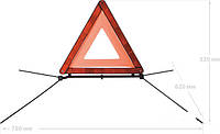 Знак аварийный Vitol