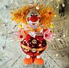 Формовая стеклянная игрушка Веселый клоун