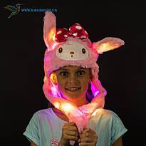 Светящиеся шапки с поднимающимися ушками