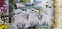 Комплект постельного белья евро размер сатин-хлопок комбинированное двустороннее Турция Koloco