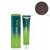 Безаммиачная крем-краска для волос Erayba Gamma Next 7/12 Блонд ирис пепельный 100 мл