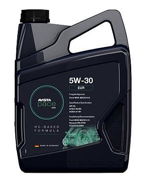 Моторное масло AVISTA pace EVO C3 SAE 5W-30, кан 5л, фото 2