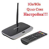 Медиа-плеер Android TV Box CS918/Q7, 1Gb/8Gb, RK3188 Quad Core A9 1.6GHz