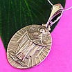 Ладанка иконка Покрова Богородицы - Кулон Покрова Богородицы серебро, фото 3