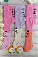 Колготки детские 68-74 р. махра для девочек под памперс Остатки Biedronka, фото 1