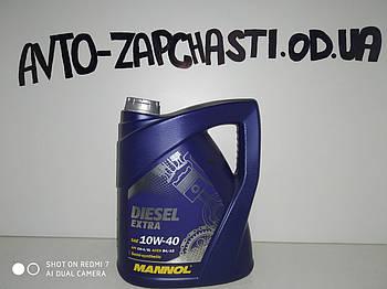 Масло моторное Mannol 10w40 Diesel Extra 5л