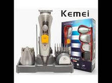 Аккумуляторная машинка для стрижки 7 в 1 KM-580