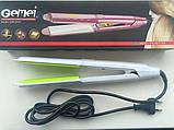 Утюжок-плойка для волос выпрямитель GEMEI GM-2957, фото 3