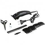 Профессиональная машинка для стрижки волос Gemei GM-809, фото 2