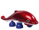 Вибромассажер инфракрасный ручной массажер для тела, рук и ног Дельфин Dolphin JT-889, фото 5