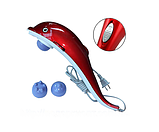 Вибромассажер инфракрасный ручной массажер для тела, рук и ног Дельфин Dolphin JT-889, фото 6