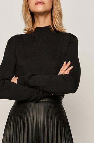 Женский чёрный свитер- полугольф Medicine, фото 2