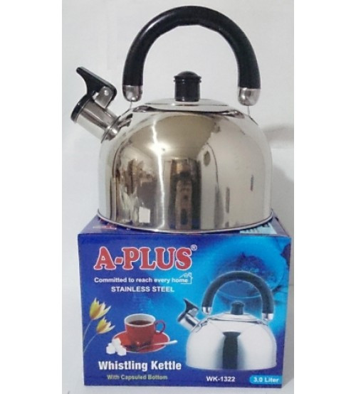 Чайник со свистком 3 л A Plus 1322