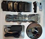 Профессиональная машинка для стрижки волос Promotec PM 359, фото 5