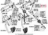3307-1108077-10 Тяга важелів акселератора тяга газу ГАЗ 3307 (покупн. ГАЗ), фото 2