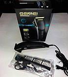 Машинка для стрижки волос Gemei GM-812, фото 3