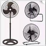 "Вентилятор OD-1803 18"" 3in1 (металл), фото 3"