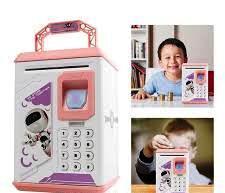 Детская-копилка сейф с купюроприемником и кодовым замком Robot Bodyguard