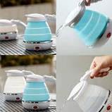Складной чайник Foldable Kettle. Чайник дорожный Kettle Foldable Travel Electric, фото 4