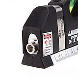 Лазерный уровень Laser Level Pro 3 со встроенной рулеткой, фото 3