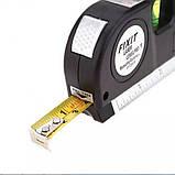 Лазерный уровень Laser Level Pro 3 со встроенной рулеткой, фото 4