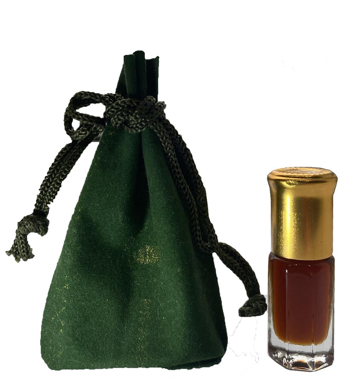 Черная Амбра Арабские масляные духи Black Amber 1 мл