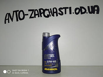 Масло моторное Mannol 10w40  Diesel Extra 1л