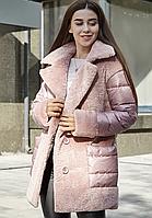 Зимнее женское пальто короткое (42-52)