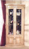 Витрина угловая в классическом стиле, гостиная CLASSICAL 3008 (Классикал)