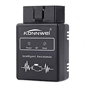 Сканер-адаптер KONNWEI KW912 для диагностики автомобиля OBDII Bluetooth 3.0 (2793-8575)