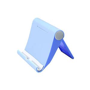 Подставка для телефона и планшета Lesko Stand A-1107 Blue