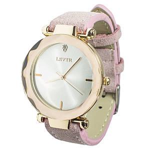 Женские часы LSVTR 2018 Light Pink (2608-7335)
