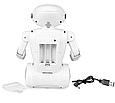 Копилка-сейф Робот 6688 на аккумуляторе с LED-лампой и купюроприемником ZV, фото 2
