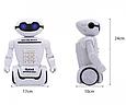 Копилка-сейф Робот 6688 на аккумуляторе с LED-лампой и купюроприемником ZV, фото 3