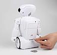 Копилка-сейф Робот 6688 на аккумуляторе с LED-лампой и купюроприемником ZV, фото 5