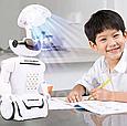 Копилка-сейф Робот 6688 на аккумуляторе с LED-лампой и купюроприемником ZV, фото 9