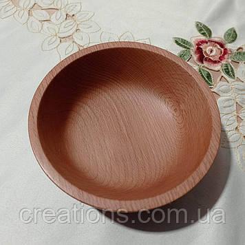 Піала - тарілка дерев'яна 14 див.