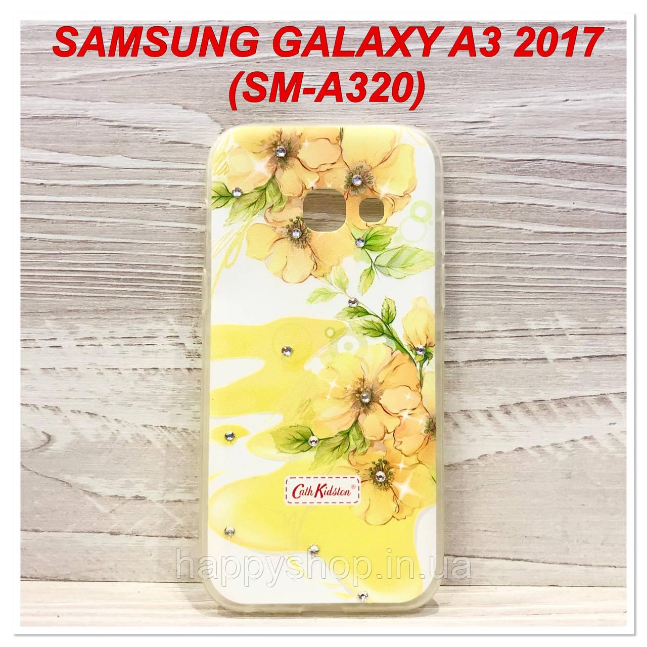 Силіконовий чохол Beckberg для Samsung Galaxy A3 2017 (A320) (Orchid)