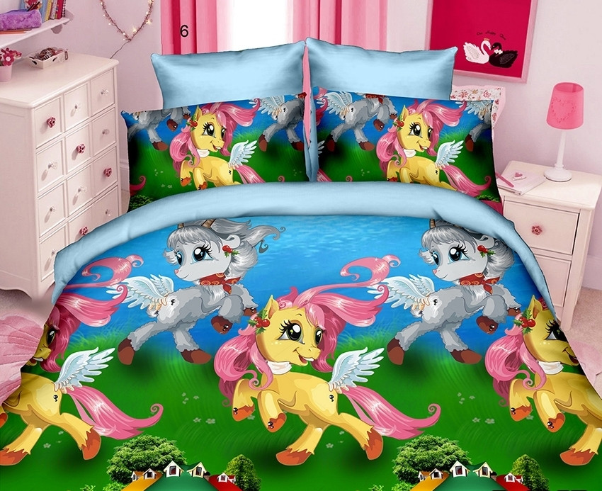 Детский комплект постельного белья из ренфорса