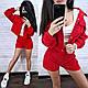 Костюм женский вельветовый кофта и шорты, фото 6