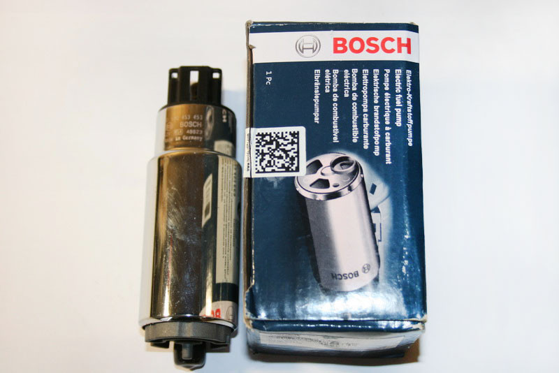 Электрический бензонасос ВАЗ 2108,2109,2110,2111,2112, произ-во Bosch (Бош), кат.код. 580453456;