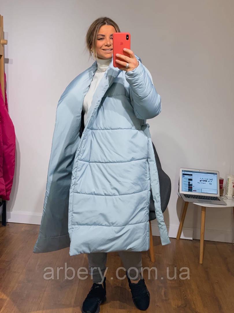 Шикарное зимнее пальто-одеяло
