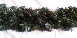Гирлянда из искусственной хвои 2 м. ПВХ красивое новогоднее украшение