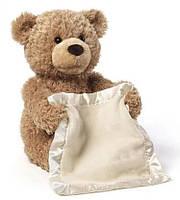 Детская интерактивная игрушка Мишка Peekaboo Bear (Пикабу) Brown 30 см   Говорящий мишка   Умный мишка игрушка