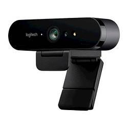 Веб-камера 9.0 Мп з мікрофоном Logitech 4K Stream Edition (960-001194) Black