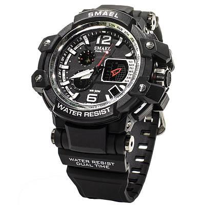 Мужские часы Smael 1509 Black (3096-8696)