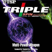 Накладка для настольного тенниса TSP Triple Spin
