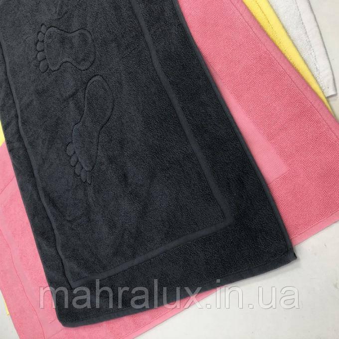 Махровые турецкие коврики для ног